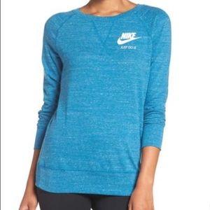 Nike Vintage Gym Blue Crewneck Sweatshirt